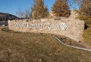Double Diamond Ranch Sign